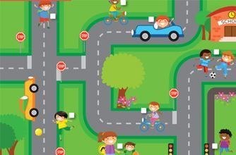 Kids Zone - Road Safety Rules - Tour Down Under