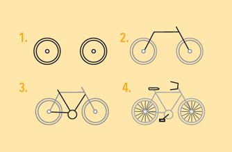 Kids Zone - How to draw a bike  - Tour Down Under